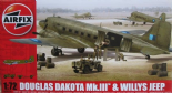 AIR09008 1/72 Douglas Dakota Mk.III with Willys Jeep